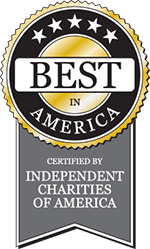 Best in America, certified by Independent Charities of America